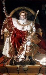 Napoleão Bonaparte - Trono imperial